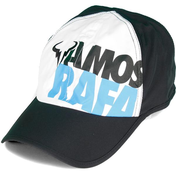 Unisex Vamos Rafa Us Open Tennis Cap Black