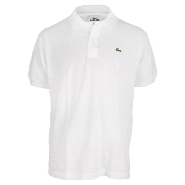Men's Short Sleeve Classic Pique Tennis Polo
