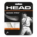 HEAD Sonic Pro 17g Strings White