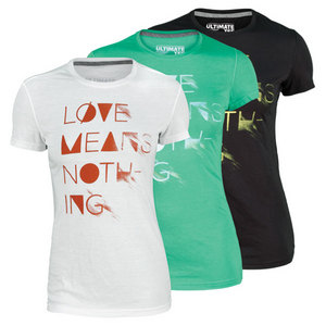 adidas WOMENS LOVE MEANS NOTHING TENNIS TEE