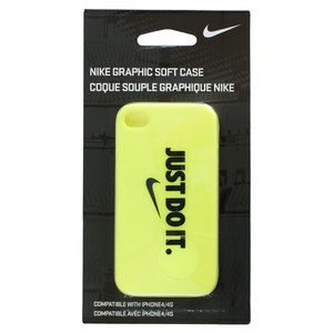 Soft iPhone Case Volt/Black