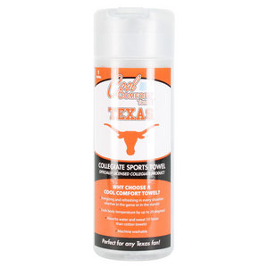PRO VISION SPORTS TX LONGHORNS COOL COMFORT GRAY TOWEL