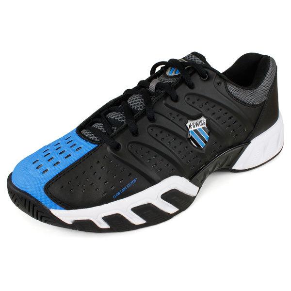 Men's Bigshot Light Tennis Shoes Black/Brilliant Blue
