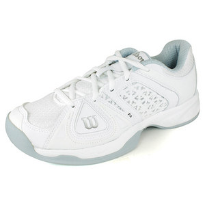 WILSON WOMENS STANCE ELITE WHITE/ICE GREY SHOES
