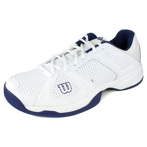 WILSON MENS STANCE WHITE/NAVY SHOES