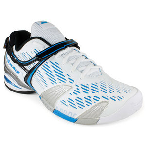 BABOLAT MENS PROPULSE 4 ALL COURT SHOES WHITE/BL