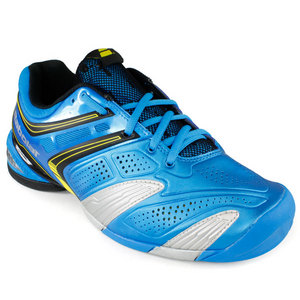 BABOLAT MENS V PRO 2 ALL COURT SHOES BLUE/YELLOW