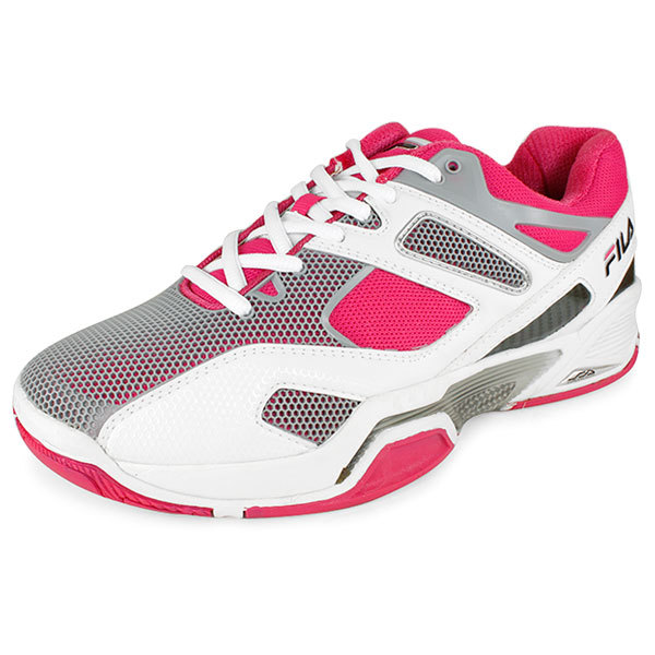 Women's Sentinel Tennis Shoes White And Pink