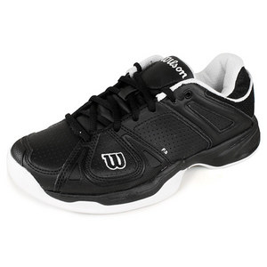 WILSON WOMENS STANCE BLACK/WH TENNNIS SHOES