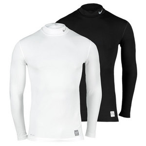 NIKE MENS HYPERWARM COMPRESSION MOCK