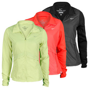 NIKE WOMENS HYPERPLY KNIT TENNIS JACKET