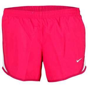 NIKE GIRLS TEMPO BERRY/PINK TENNIS SHORT