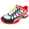NIKE Women`s Zoom Breathe 2K12 Tennis Shoes White/Thunder Blue/Sunburst