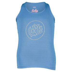 LUCKY IN LOVE GIRLS LOVE TENNIS TANK