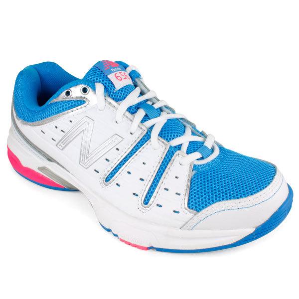 Women's Wc656 Kinetic Blue B Width Tennis Shoes