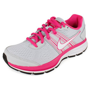 Girl`s Air Pegasus+ 29 Running Shoes Pure Platinum/Desert Pink