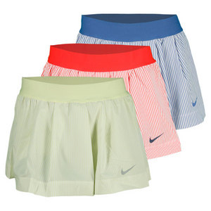 NIKE WOMENS RUFFLED WOVEN TENNIS SKIRT
