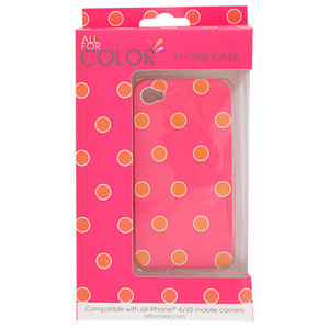 ALL FOR COLOR SORBET SPOTS IPHONE 4 CASE
