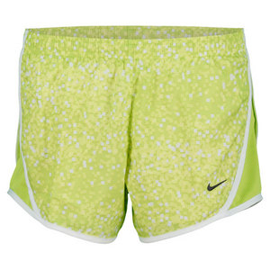 NIKE GIRLS GRAPHIC TEMPO RUNNING SHORT