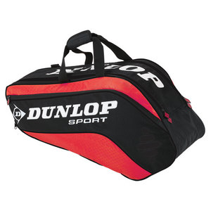 DUNLOP BIOMIMETIC TOUR 6 PACK RED TENNIS BAG
