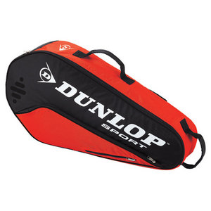 DUNLOP BIOMIMETIC TOUR 3 PACK RED TENNIS BAG
