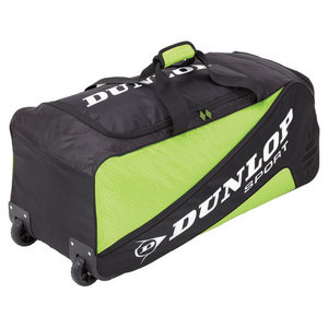 DUNLOP BIOMIMETIC TOUR WHEELIE GREEN TENNIS BAG