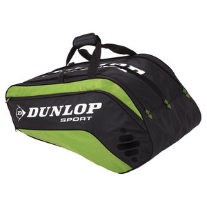 DUNLOP BIOMIMETIC TOUR 10 PACK GREEN THERMO BAG