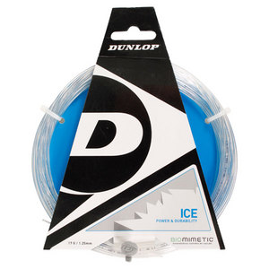 DUNLOP BIOMIMETIC ICE 17G TENNIS STRING CLEAR