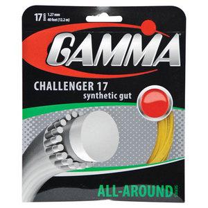 GAMMA CHALLENGER 17G GOLD TENNIS STRING
