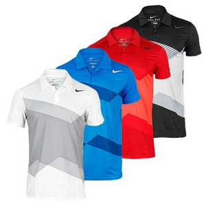 NIKE MENS GRAPHIC TENNIS POLO