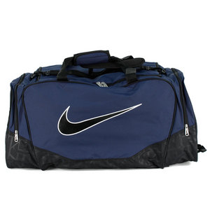 NIKE BRASILIA 5 LG MIDNIGHT NAVY DUFFLE BAG