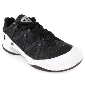 PRINCE MENS SCREAM 3 LOW SHOES BLACK/WH/SILV
