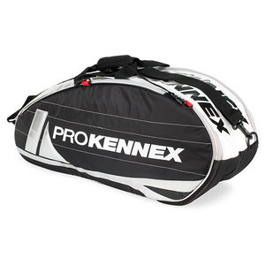 PRO KENNEX SQ PRO SERIES 6 PACK BLACK TENNIS BAG