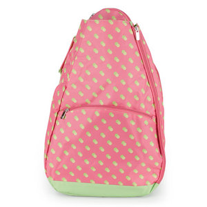 ALL FOR COLOR CITRUS DOT TENNIS BACKPACK