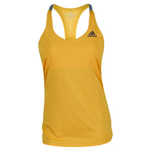 adidas WOMENS ESSENTIALS GOLD/VIO TENNIS TANK 1