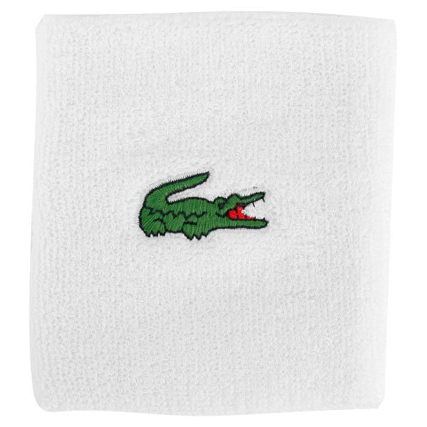 Men's Green Croc Cotton Blend Sport Wrist Bands