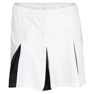 BOLLE WOMENS SUMMER NIGHTS TENNIS SKORT WHITE