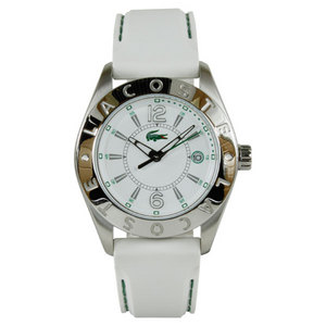 LACOSTE BIARRITZ WATCH WHITE