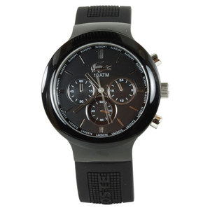 LACOSTE BORNEO WATCH BLACK