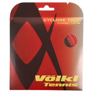 Cyclone Tour 18G/1.20MM Red Tennis String