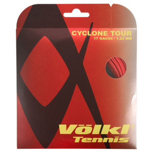 VOLKL CYCLONE TOUR 17G/1.25MM RED STRING