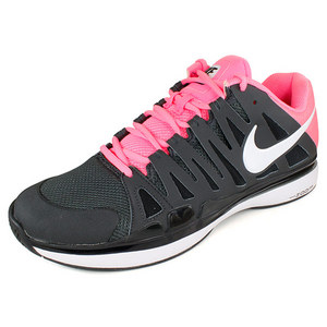 NIKE MENS ZOOM VAPOR 9 TOUR SHOES ANTHA/PINK
