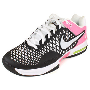 NIKE WOMENS AIR MAX CAGE SHOES BK/PINK