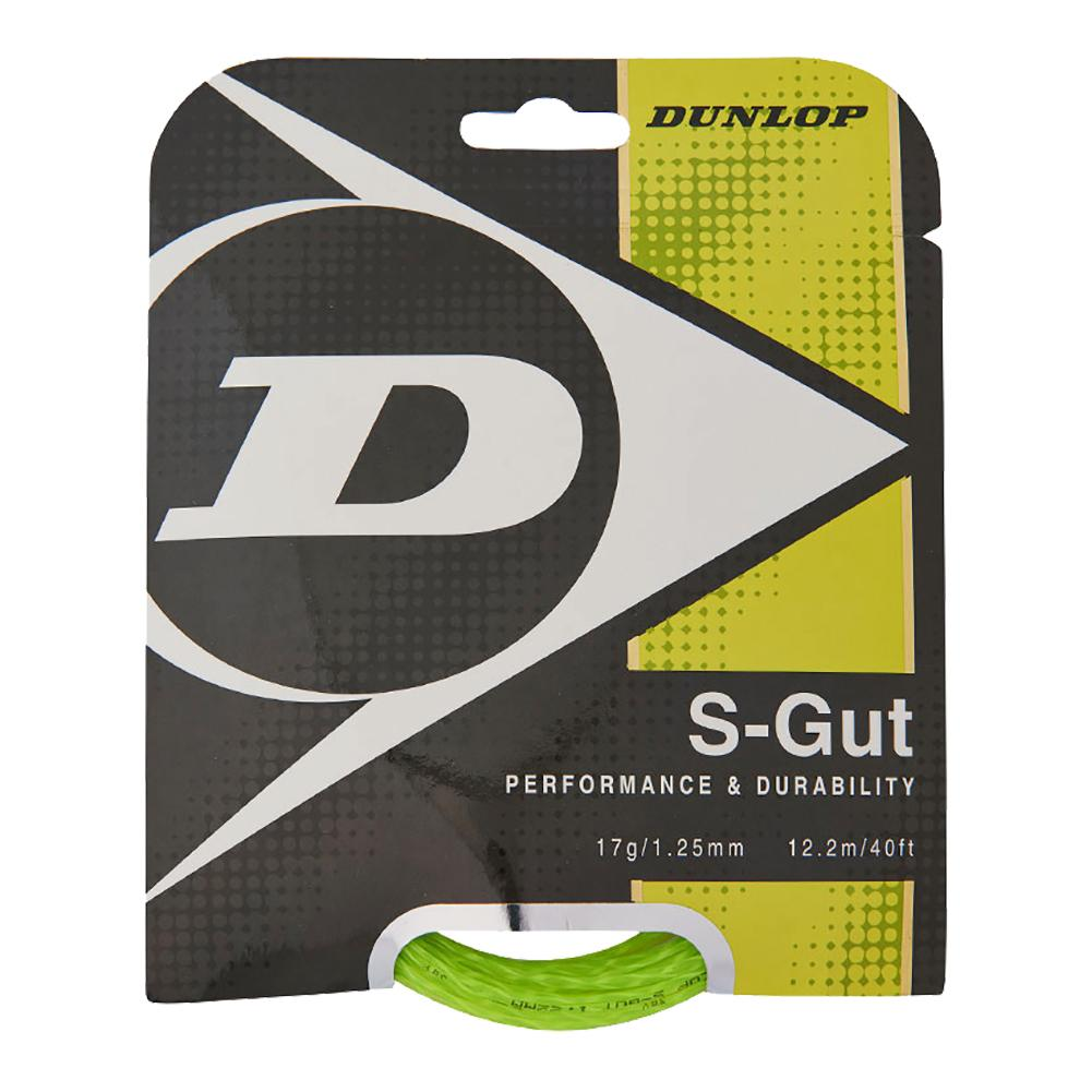 S- Gut Biomimetic 17g Green Tennis String