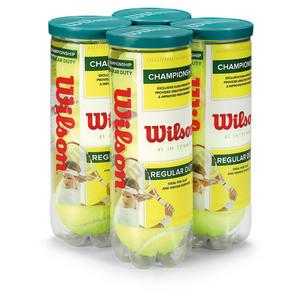 WILSON CHAMP REGULAR DUTY 4 PACK TENNIS BALLS
