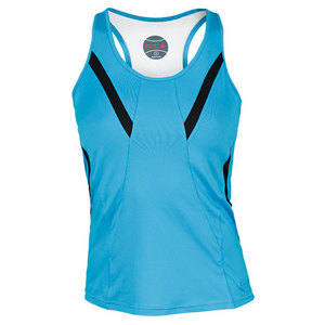 BOLLE WOMENS IN THE SWING TENNIS TANK BLUE