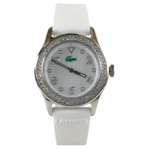 LACOSTE WOMENS ADVANTAGE CRYSTALS TENNIS WATCH