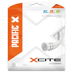 X Cite 1.30/16 Tennis String Pearl
