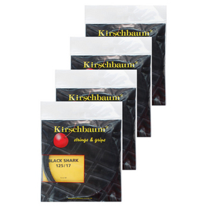 KIRSCHBAUM SPIKY SHARK BLACK 17G 4 PACK STRINGS