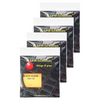 Spiky Shark Black 16G 4 Pack Tennis Strings